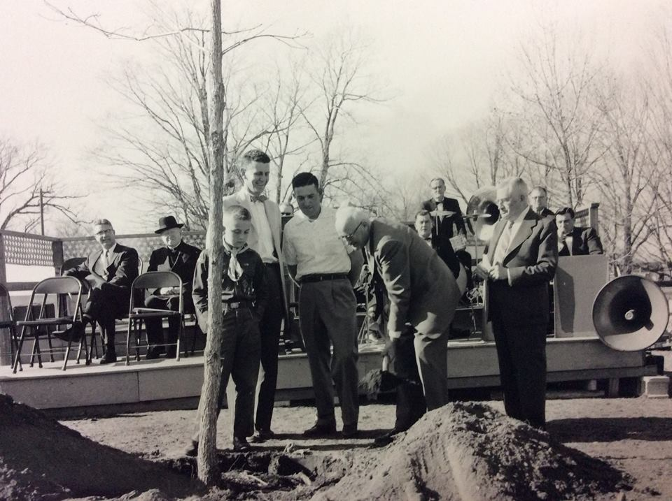 Dedication of the Beaman Oak