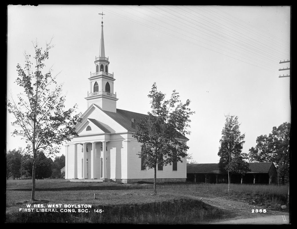 Photograph of the First Congregational Church
