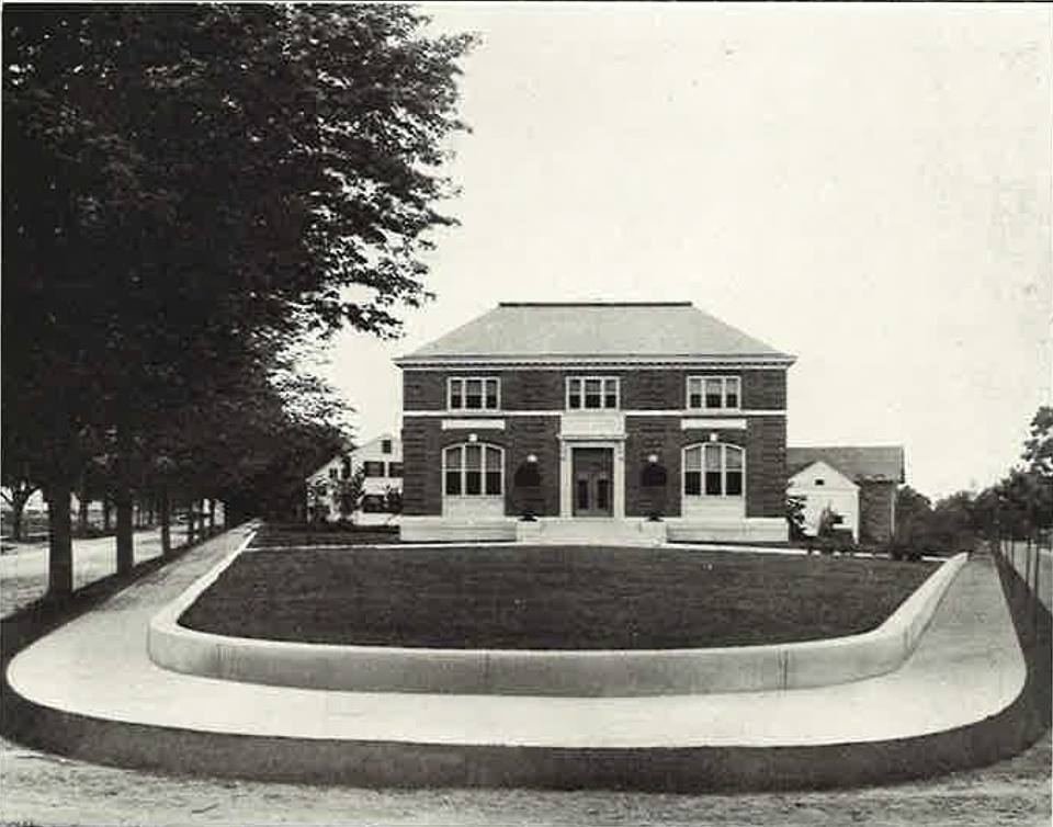 Library, photograph
