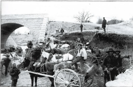 Photograph of the Reservoir Laborers