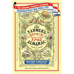 The Old Farmers Almanac Cover, photograph