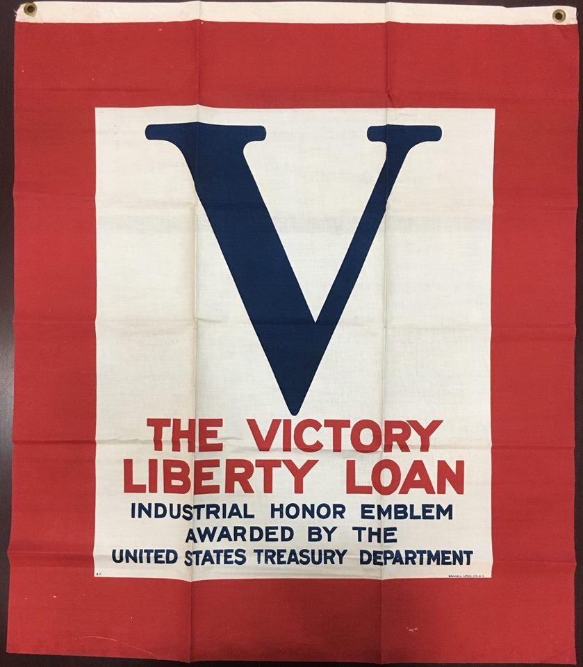 Image of the Victory Liberty Loan Flag